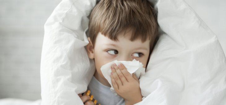 Khi trẻ bị cảm lạnh